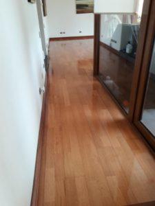 vitrificado y pulido de pisos de madera en santiago